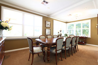 Modern Dining Room Design Portfolio