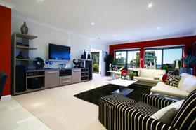 Modern Living Room Design Portfolio