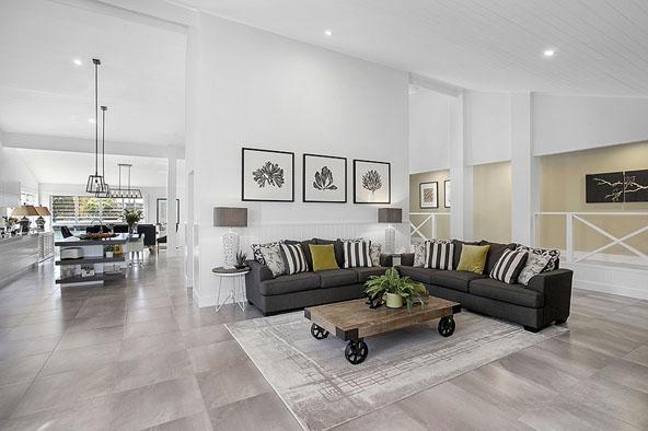 Modern Open Plan Living Design Portfolio